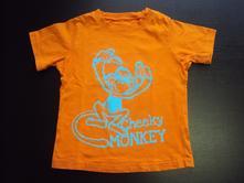 Tričko s opicou, cherokee,104