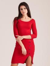Dámske šaty rzp červené, l / m / s