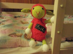 Ovečka Katka pre malú menovkyňu :)