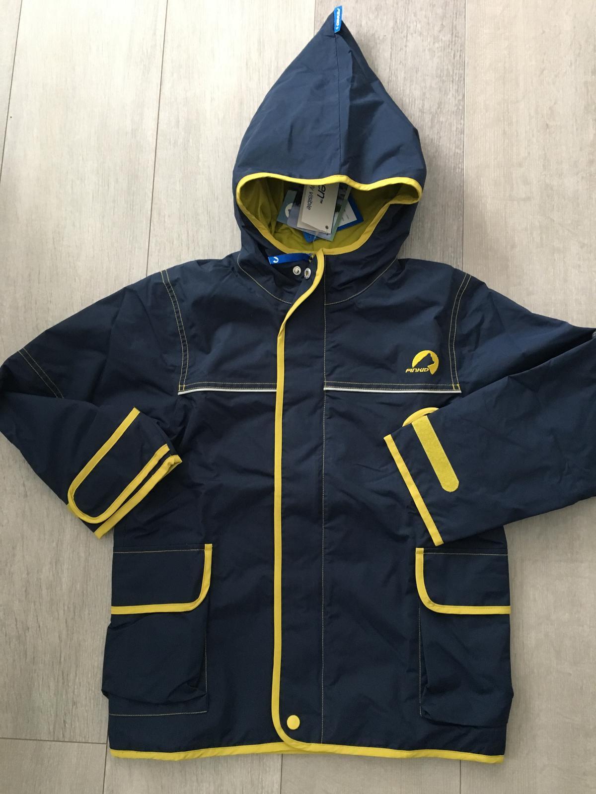 Nová kvalitná funkčná bunda zn. finkid 130-140 6929799b348