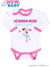 1d724925d609 Body s potlačou new baby až budem veľká ...