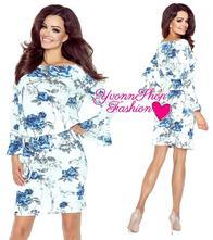 Úžasné dámske šaty bergamo, l / m / s / xs