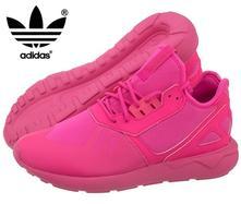 Skvelé neonové boty adidas tubular runner, adidas,35 - 40