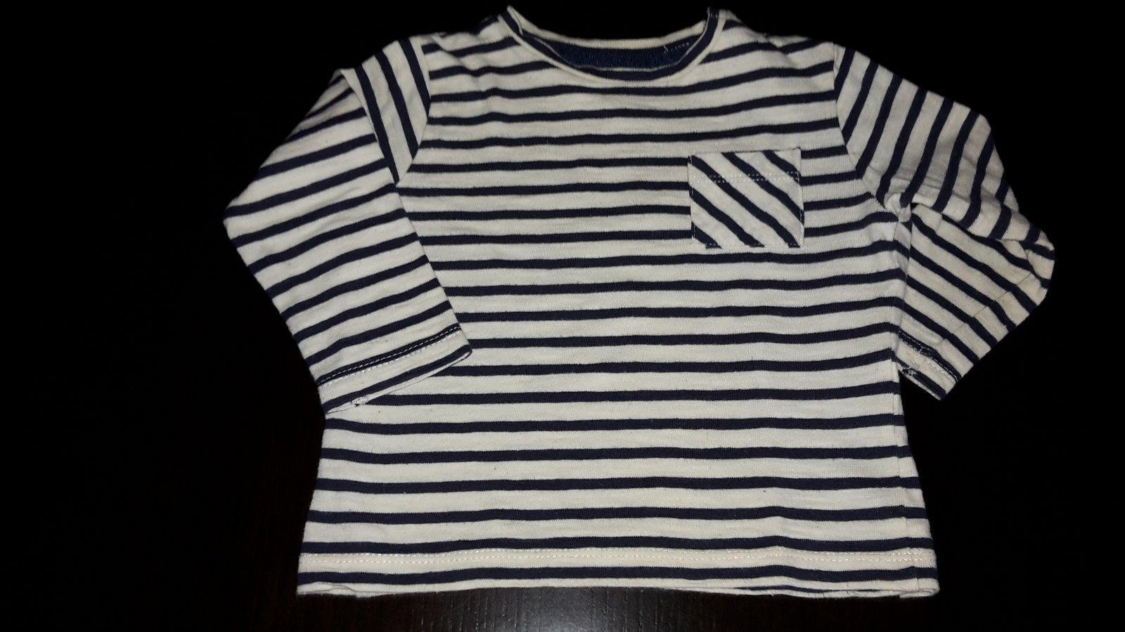 c4e8091679b2 Chlapčenské tričko s náprsným vreckom zn. zara