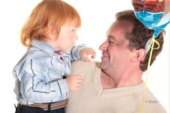 Miško s tatinom