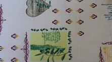Teflónový obrus olivy okrúhly 150,