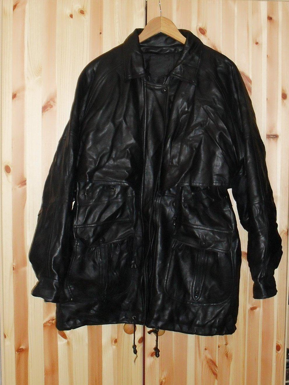 250718c23 Pánska kožená bunda, xl - 29 € od predávajúcej lilianam | Detský bazár |  ModryKonik.sk