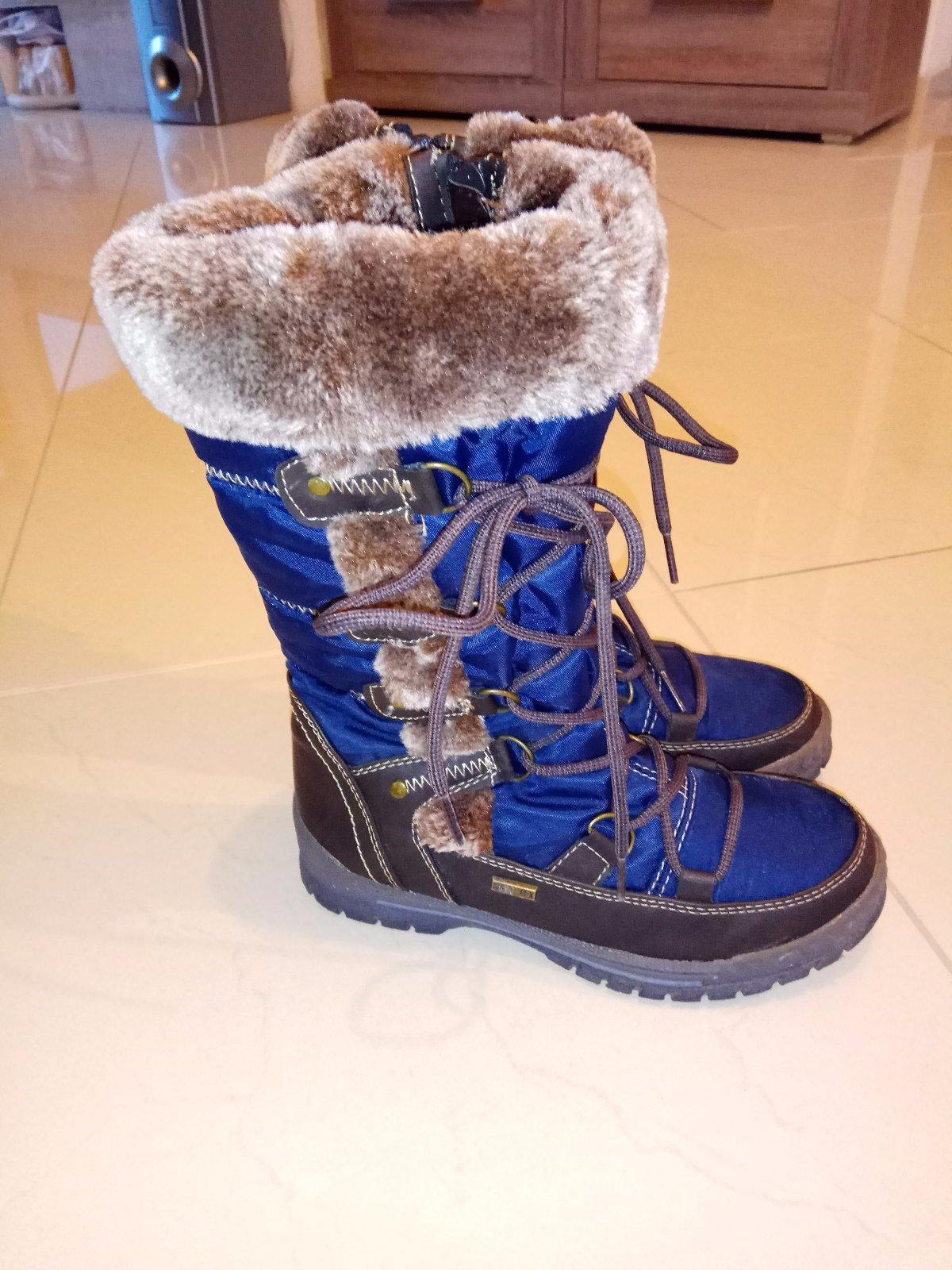 Dievčenské teplé čižmy - snehule fd1d157edbe