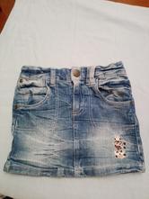 Jedna riflova sukňa sa rovná dve sukne, kiki&koko,116