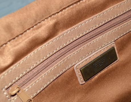 Svetlohnedá kabelka - pravá koža f f b82daabb0da