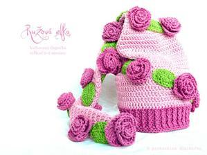 Ružičková elfská čiapočka pre fotografov - 16€
