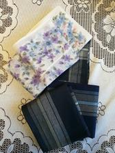Návrat do dectva ,len sa mi zdajú dajaké tenké tie dnešné vreckovky. No som zvedavá,dieťa má pánske ako veľký chlap ❤