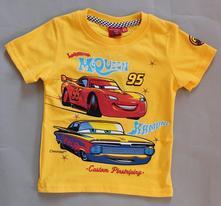 Tričko cars s krátkym rukávom 65152, disney,122