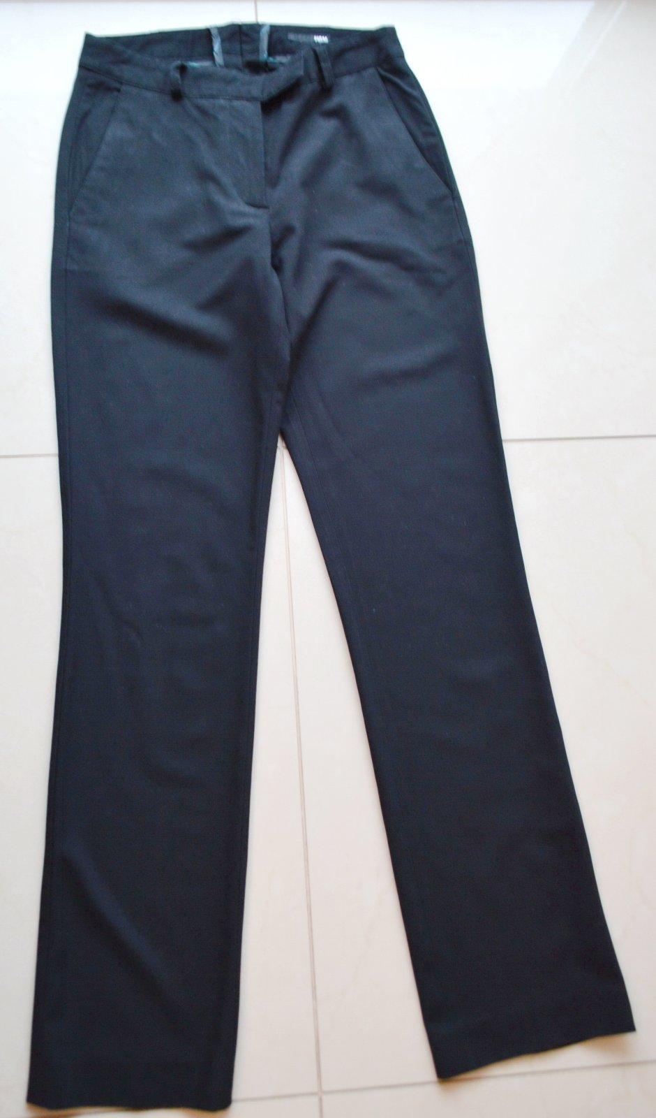 d2a33c6123a2 Čierne dlhé elegantné nohavice