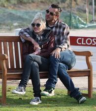 Gavin Rossdale and wife Gwen Stefani