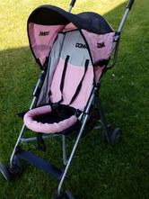Ružový golfový kočík, dema