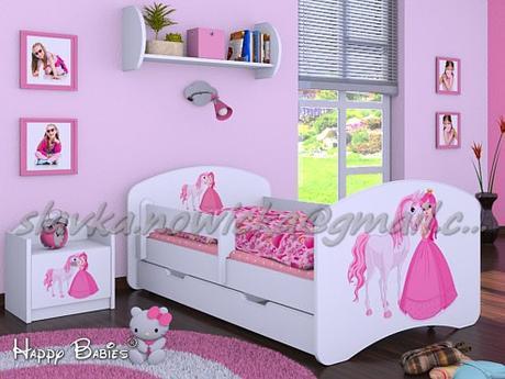 f46031c66ed66 Princezná s koníkom posteľ komplet 180x90 biela, - 190 € od predávajúcej  slavka336 | Detský bazár | ModryKonik.sk
