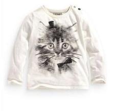 Tričko s obrázkom mačičky, next,116