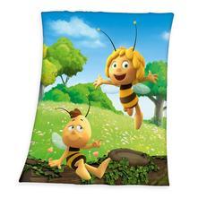 Fleece deka včielka maja a vilko 130/160 cm sklado,