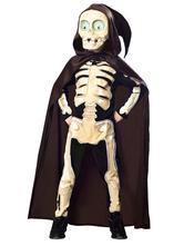 Halloween karnevalový kostým kostra,