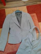 Kostým sako, nohavice vestička zn. lifeline, 38
