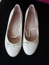 Biele balerinky na svadbu aj pre družičku, mayoral,36