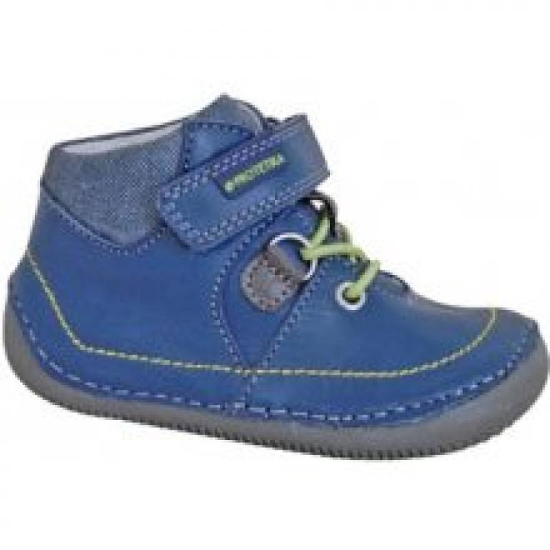 126b80074f6 Protetika detská kožená obuv lens green
