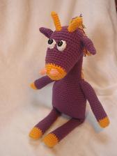 Najnovší prírastok do našej hračkárskej rodinky - žirafka Fialka :)