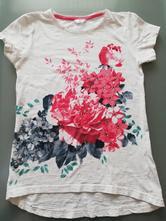 Tričko s kvetinkami, pepco,152