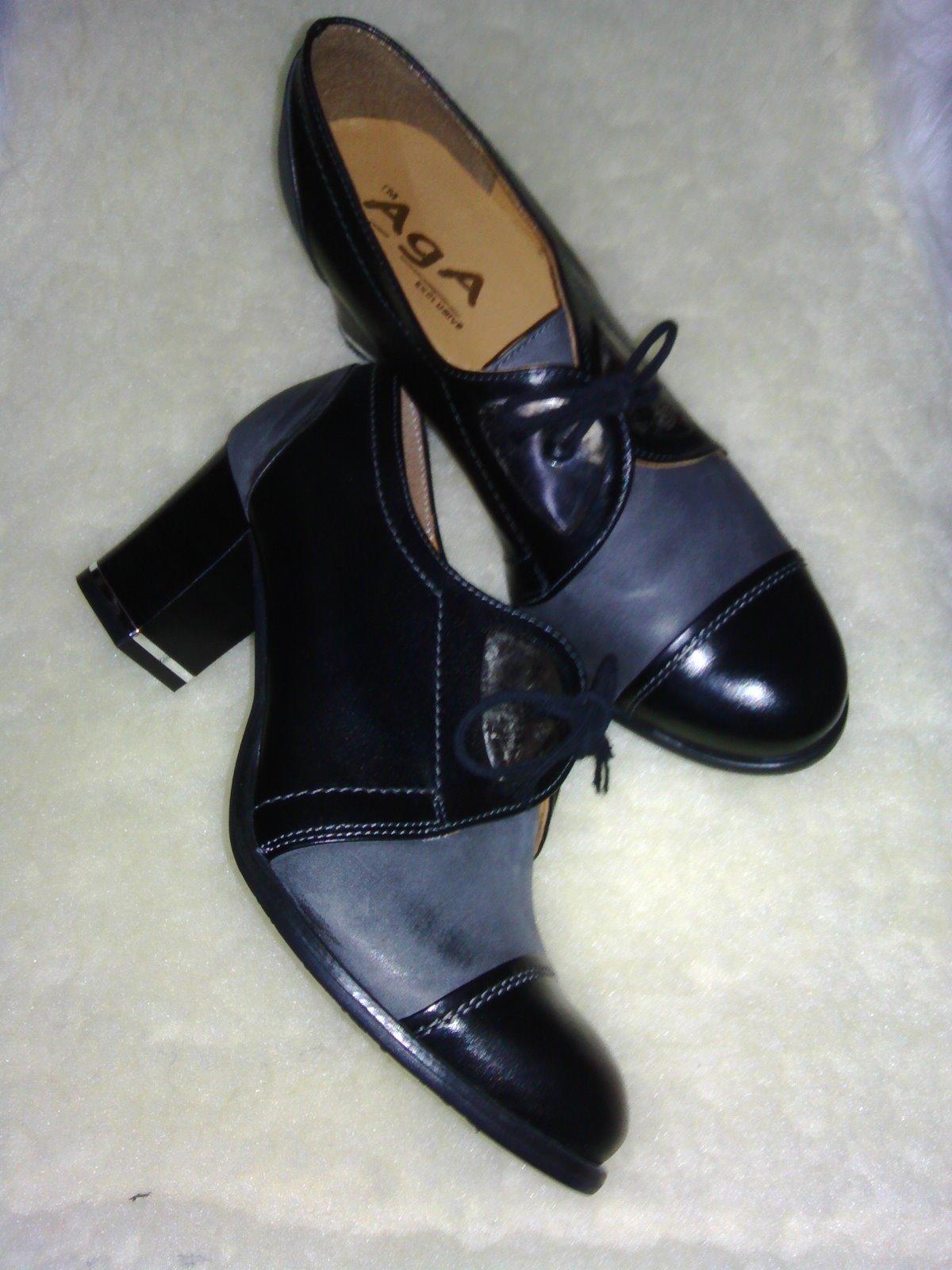8c97895c7ddb Dámske topánky na šnúrovanie aga 9672 z