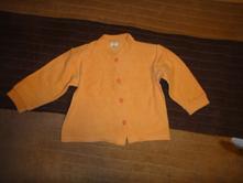 Tričko - kabátik na gombíky, domaja,80