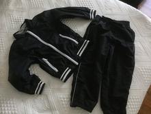Podsite sportovne nohavice gumka na clenkoch, rebel,110