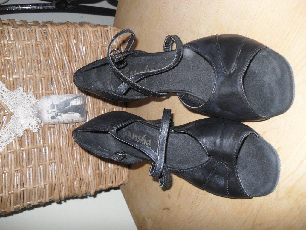 031267833be0 Kožené tanečné topánky sansha