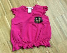 Krásne dievčenské tričko/tielko , h&m,62