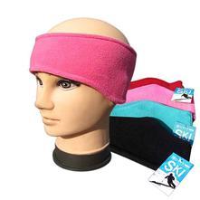 Dievčenská flísová čelenka ski - rôzne farby, 110 - 158