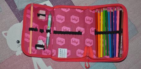 peračnik - základ prvý polrok ceruza, atramentové pero a farbičky - guma - strúhadlo