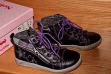 Málo nosené zateplené prechodné topánky, 28