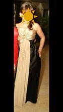 Krásne dlhé šaty, s