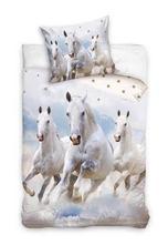 Skladom posteľné obliečky kone,