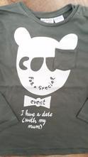 Olivové tričko zara 2-3r, zara,98