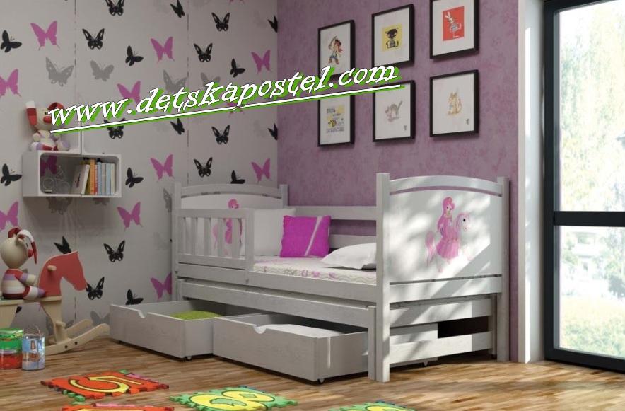 a3274cc12091 Veronika 5 180x80 posteľ s prístelkou