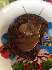 Penam fit den chlebík, zmiešané arasidove maslo s brownie arasidovym maslom😋