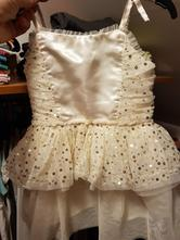 Zlaté šaty, h&m,92