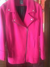 Prechodný kabátik v sýtovoružovej farbe, atmosphere,36