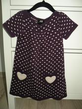 Pletené šaty, h&m,86