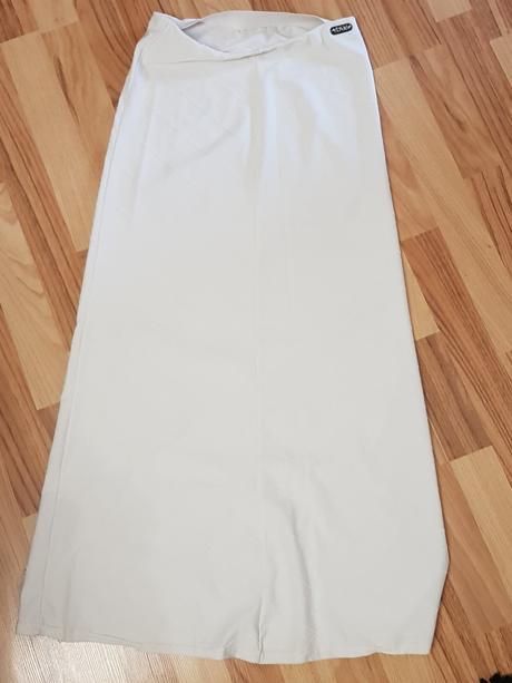 0ece9e75170b Biela športová dlhá sukňa