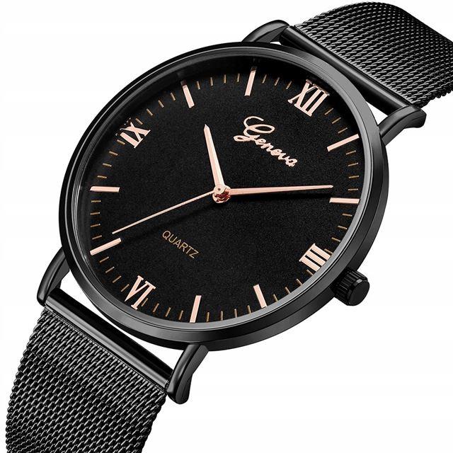 8350f9f55 Luxusní dámské kovove hodinky geneva mesh, - 9,99 € od predávajúcej ...