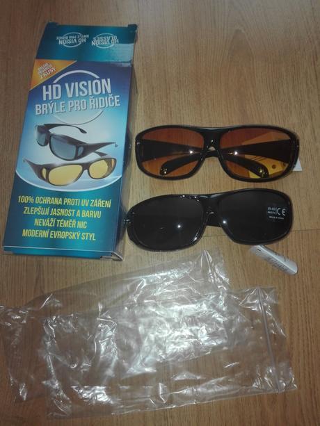 1ae5625fd Okuliare pre vodičov hd vision nové 2ks, - 8,40 € od predávajúcej  lienka2384 | Detský bazár | ModryKonik.sk