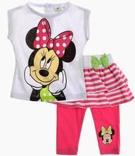 Minnie mouse súprava tričko a kraťasky, disney,68 / 80 / 86 / 92