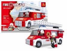 Stavebnica hasiči auto 150 ks,